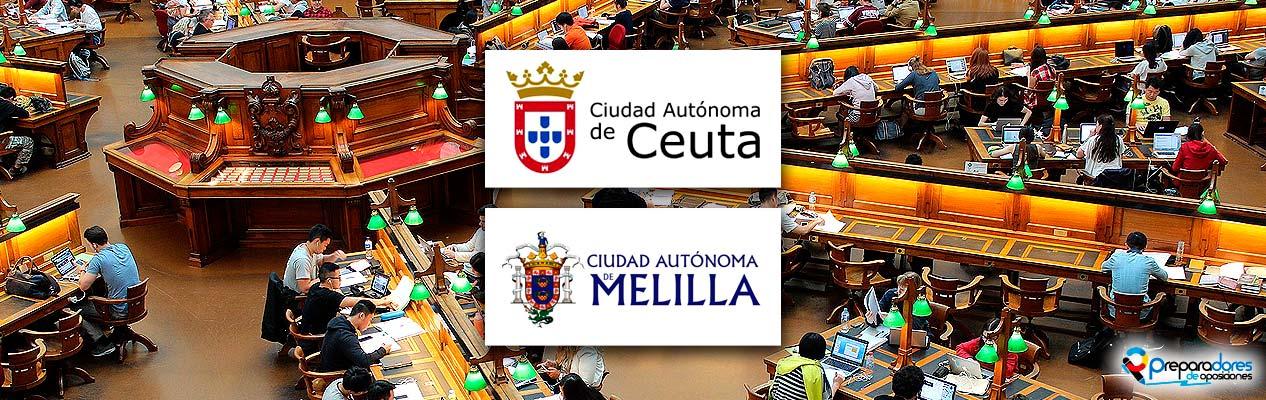 preparadores de oposiciones secundaria ceuta y melilla