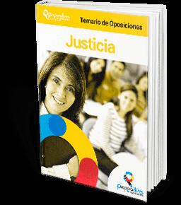 comprar temario de oposiciones justicia