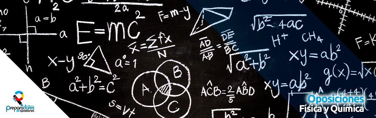 Preparadores Oposiciones Física y Química