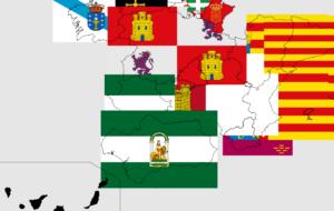 mapa dinero CCAA