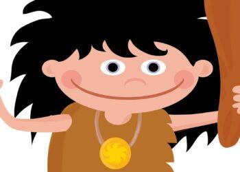 niño de la prehistoria