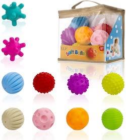 pelotas sensoriales para niños con tea