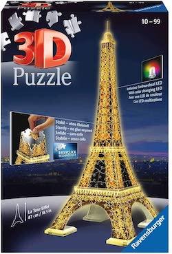 puzle 3d torre ifel
