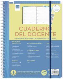 cuaderno para profesores