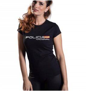 Aircops Camiseta Policía Nacional Mujer