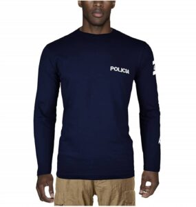 Aircops Camiseta Policia Manga Larga