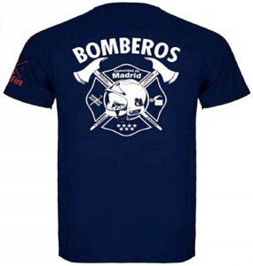 CrossFire Camiseta de Bombero Técnica de la Comunidad de Madrid de Hombre