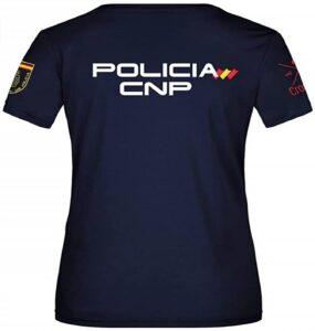 Crossfire Camiseta Técnica de Policía Nacional de Mujer