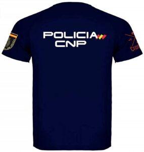 Crossfire Camiseta Técnica de Policía unisex