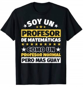 Hombre Profesor de Matemáticas