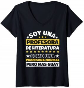 Mujer Profesora de Literatura