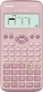 Nuevo Casio FX-83GTX Calculadora científica Rosa